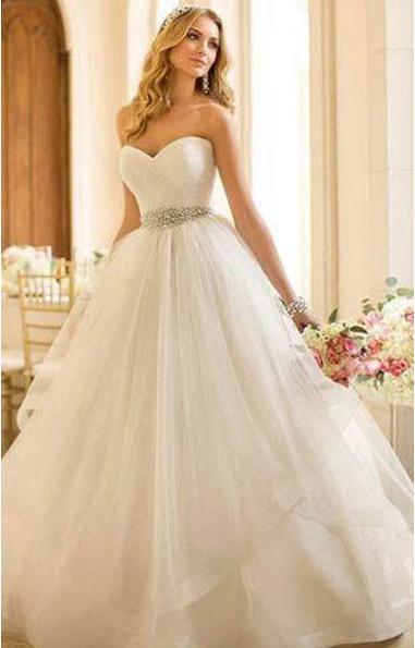 Como escolher o vestido perfeito para casamento - vestido de noiva princesa