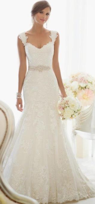 31aef66e38 Como escolher o vestido perfeito para casamento - vestido de noiva semi  sereia