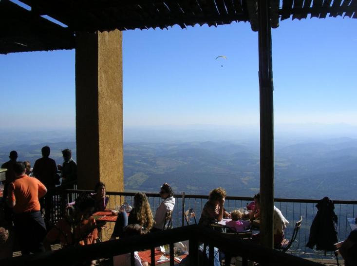 Restaurante Topo do Mundo - fotos externas para casamento em Belo Horizonte